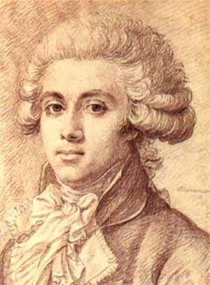 Le député girondin Pierre Vergniaud, décapité en 1793.