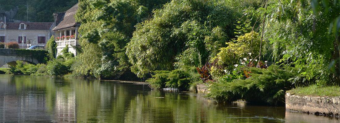 Paysage en Dordogne
