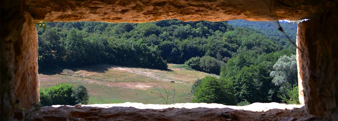 Vue du château de Bonaguil - Crédit photo: FranceSudOuest
