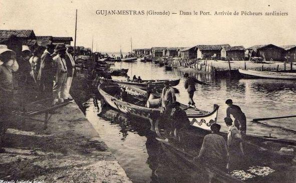 Pêche à la sardine au début du XXe siècle
