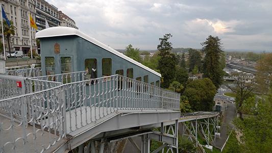 Funiculaire de Pau - Crédit photo : Nicolas Vigier - Flickr