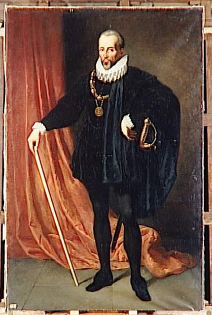 Blaise de Monluc, maréchal de France, pourfendeur du comte de Montgomery et des armées protestantes à Mont-de-Marsan.