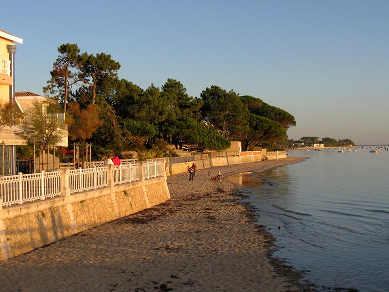 La plage de la Jetée, au soleil couchant - Crédit photo: FranceSudOuest