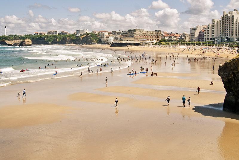 La Grande Plage à Biarritz - Crédit photo: José Sáez - Flickr