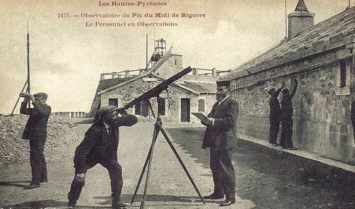 carte postale ancienne de l'observatoire