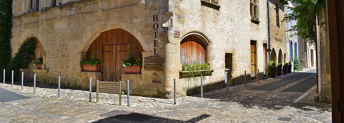 Saint-Macaire, à l'angle de la rue Carnot et de la rue de l'Eglise - Crédit photo: FranceSudOuest