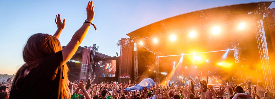 Garorock, un festival de musique majeur en France - Crédit photo: