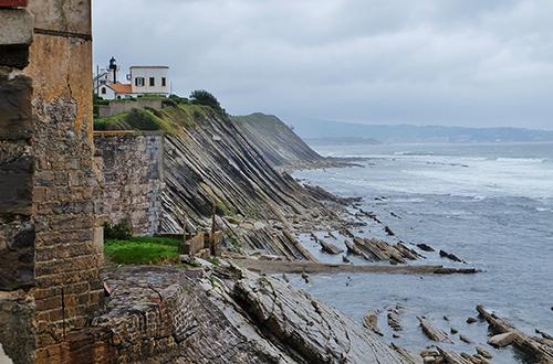 Les hautes falaises de Socoa - Crédit photo: thierry llansades - Flickr