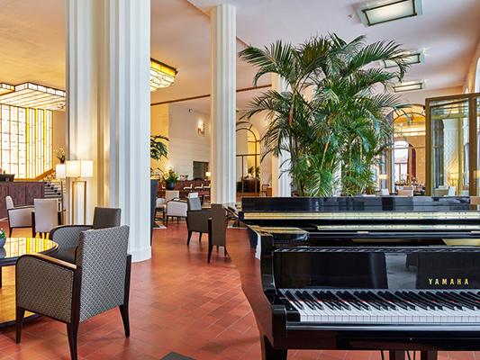Salon de l'hôtel Splendid de Dax