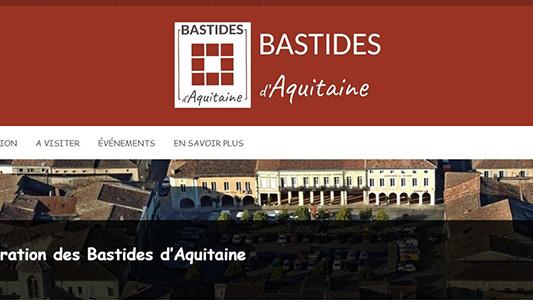 capture écran site bastides aquitaine