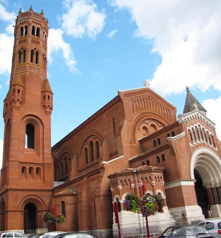 église sainte catherine à villeneuve sur lot