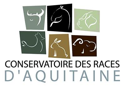 logo conservatoire des races d'aquitaine