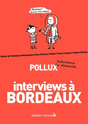 couverture du livre interviews à bordeaux
