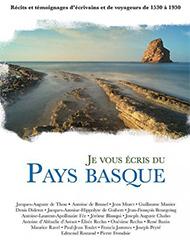 couverture je vous écris du pays basque
