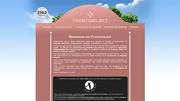 caputure d'écran du site Pelotatri