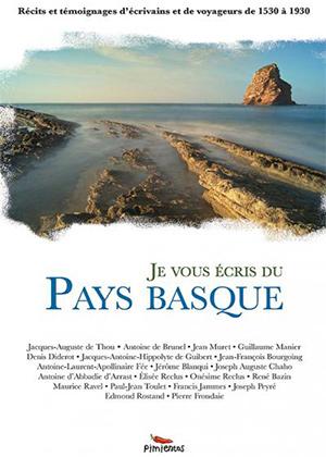 coiuverture du livre je vous écris du pays basque