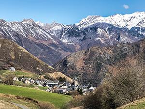 Village de Lescun (Pyrénées-Atlantiques)