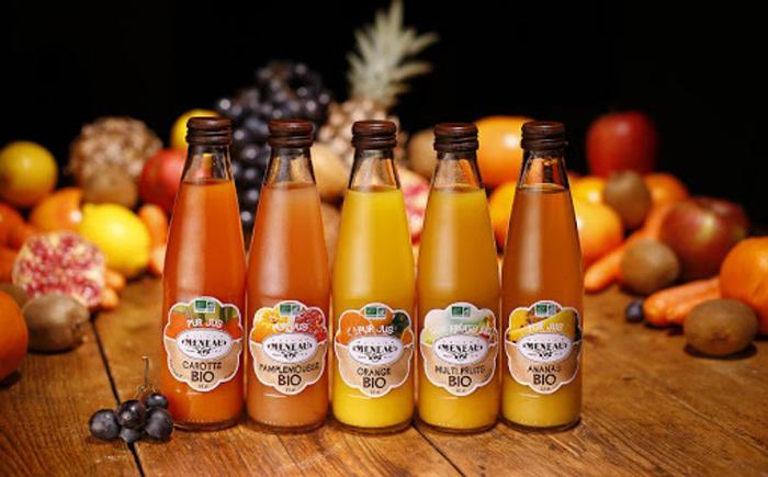 Produits de la maison meneau en Gironde: sirop et jus de fruits pour l'apéritif