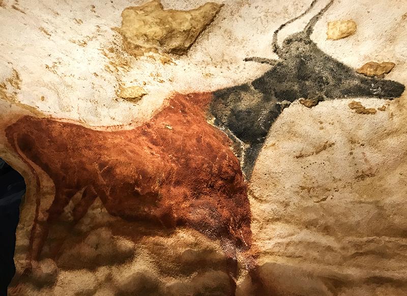 reproduction d'auroch pour lascaux 2