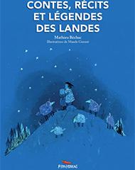 couverture du livre contes, récits et légendes des landes