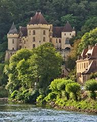 un château en Dordogne
