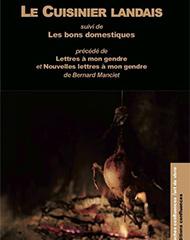 couverture du livre le cuisinier landais