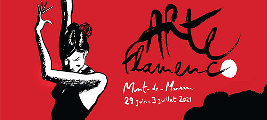 affiche festival arte flamenco 2021