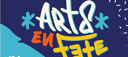 affiche festival arts en fête